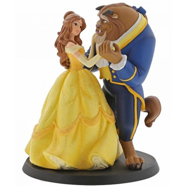 LA BELLE ET LA BÊTE CAKE TOPPER DISNEY ENCHANTING