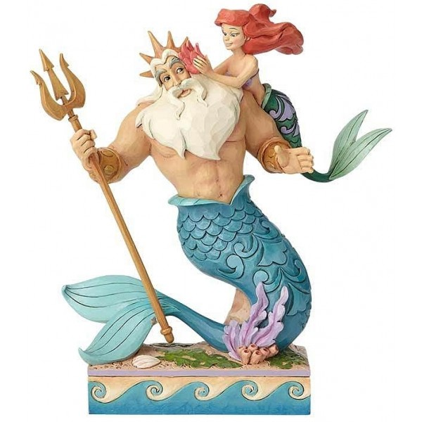 FIGURINE DISNEY TRADITIONS ARIEL ET TRITON