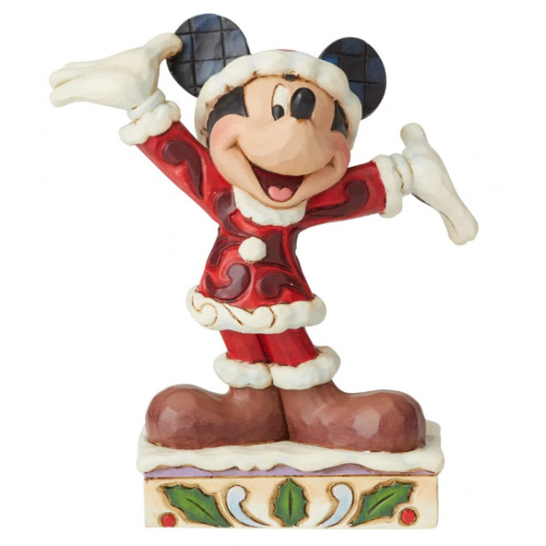 MICKEY EN COSTUME DE NOËL - DISNEY TRADITIONS