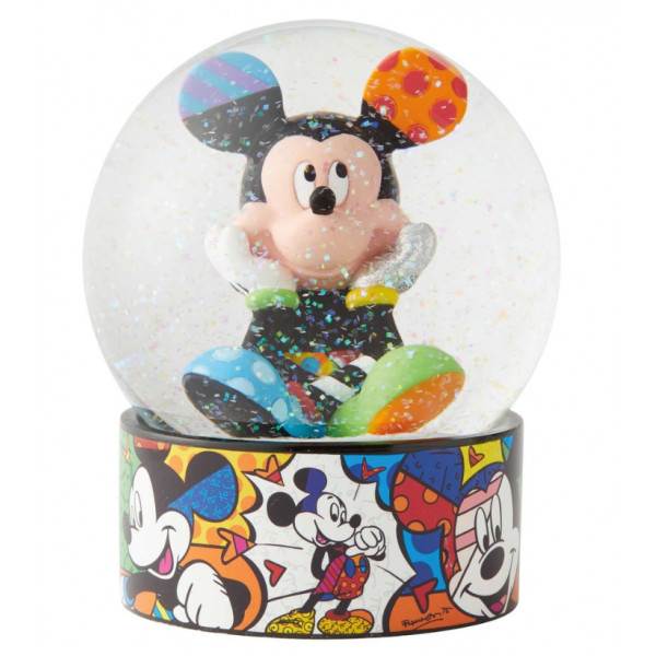 SNOWBALL MICKEY MOUSE 10 CM - DISNEY BRITTO