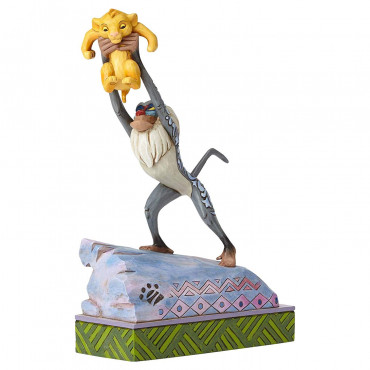 RAFIKI ET BÉBÉ SIMBA DISNEY TRADITIONS JIM SHORE