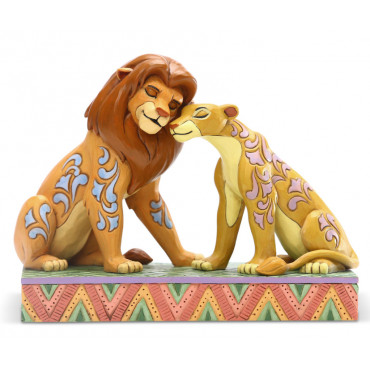 SIMBA ET NALA TENDREMENT - DISNEY TRADITIONS