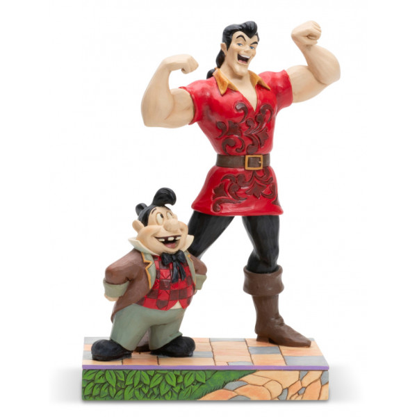 GASTON ET LEFOU - DISNEY TRADITIONS