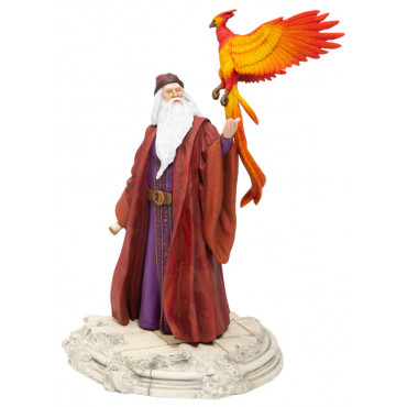DUMBLEDORE ET SON PHOENIX FUMSECK - HARRY POTTER
