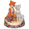 LES ARISTOCHATS WOODCARVED - DISNEY TRADITIONS