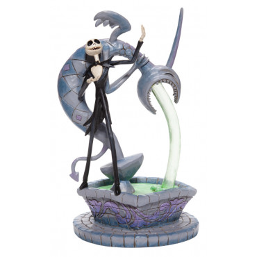 JACK SKELLINGTON SU UNE FONTAINE - DISNEY TRADITIONS