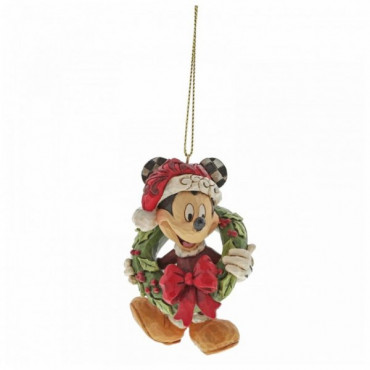 SUSPENSION MICKEY DE NOEL - DISNEY TRADITIONS