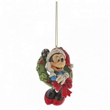 SUSPENSION MINNIE DE NOEL - DISNEY TRADITIONS