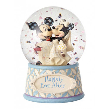 SNOWBALL MARIAGE DE MICKEY ET MINNIE - DISNEY TRADITIONS