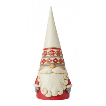 GNOME CHAPEAU BLANC - JIM SHORE