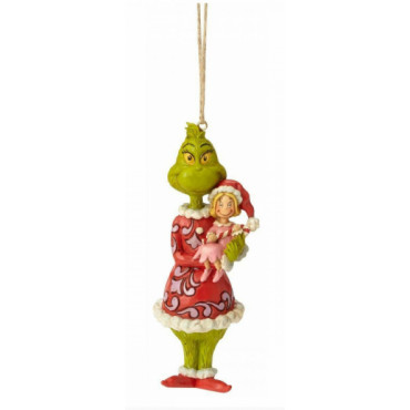 SUSPENSION GRINCH AVEC CINDY LOU - LE GRINCH