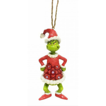 SUSPENSION GRINCH EN PERE NOEL - LE GRINCH