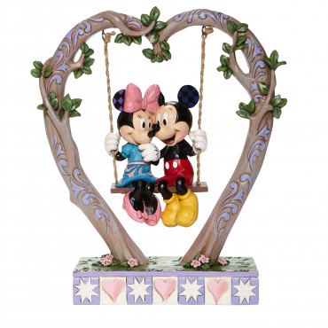 MICKEY ET MINNIE SUR LA BALANÇOIRE - DISNEY TRADITIONS