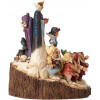 WOOD CARVED BLANCHE-NEIGE DISNEY TRADITIONS