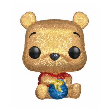 FUNKO POP! 252 DIAMOND EXCLUSIVE (DGLT) - DISNEY WINNIE L'OURSON