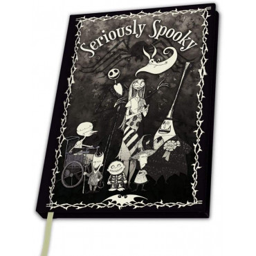 CAHIER A5 NIGHTMARE BEFORE XMAS - DISNEY