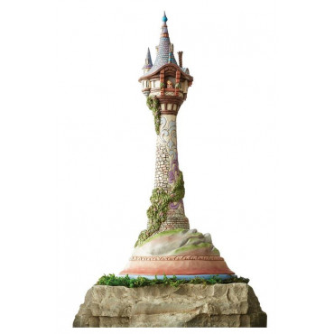 MASTERPIECE RAIPONCE TOWER - DISNEY TRADITIONS