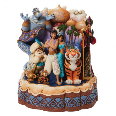 CARVED BY HEART ALADDIN - DISNEY TRADITIONS