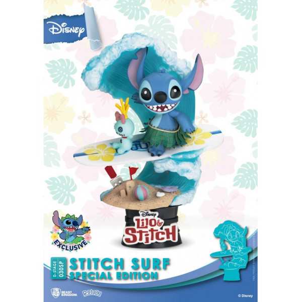 STITCH SURF SPECIAL EDITION - DISNEY D-STAGE