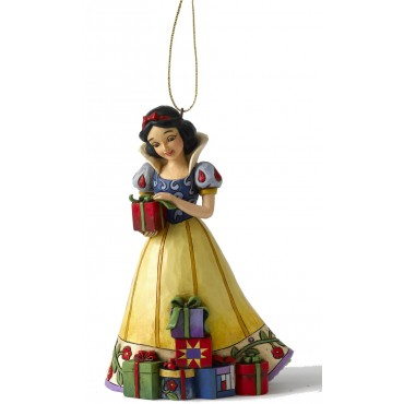 BLANCHE NEIGE (décor sapin)