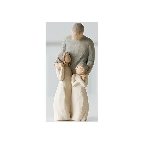 STATUETTE WILLOW TREE MES FILLES