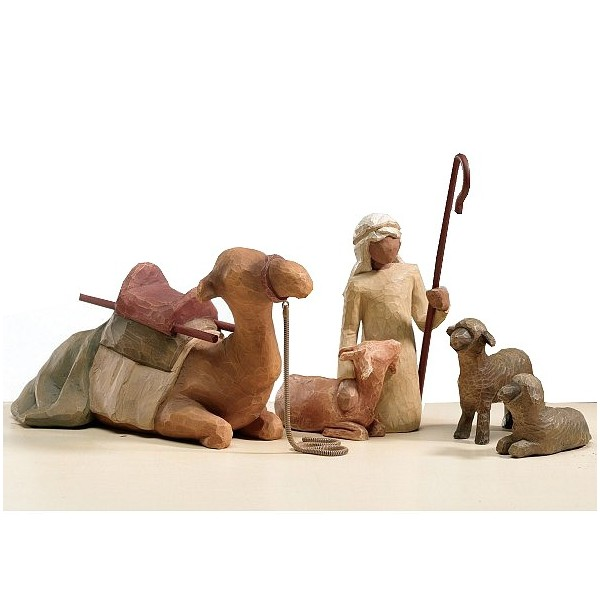 STATUES WILLOW TREE BERGER ET SES ANIMAUX