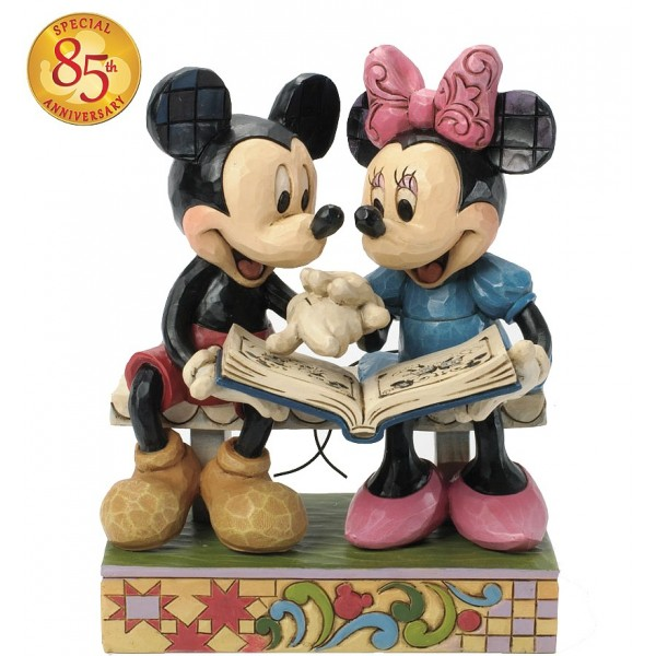MICKEY ET MINNIE 85e ANNIVERSAIRE DISNEY TRADITIONS