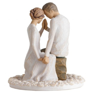 CAKE TOPPER WILLOW TREE PRES DE TOI