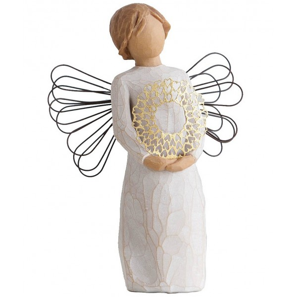 FIGURINE WILLOW TREE CŒUR DOUX